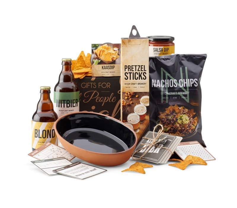 Kerstpakket Nachos and salsa - 21% BTW