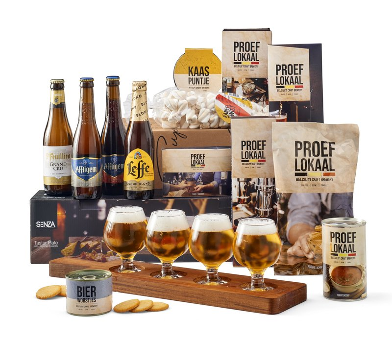 Kerstpakket Belgische bierproeverij - 21% BTW