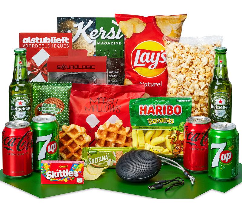 Kerstpakket Mini feestje - 9% BTW