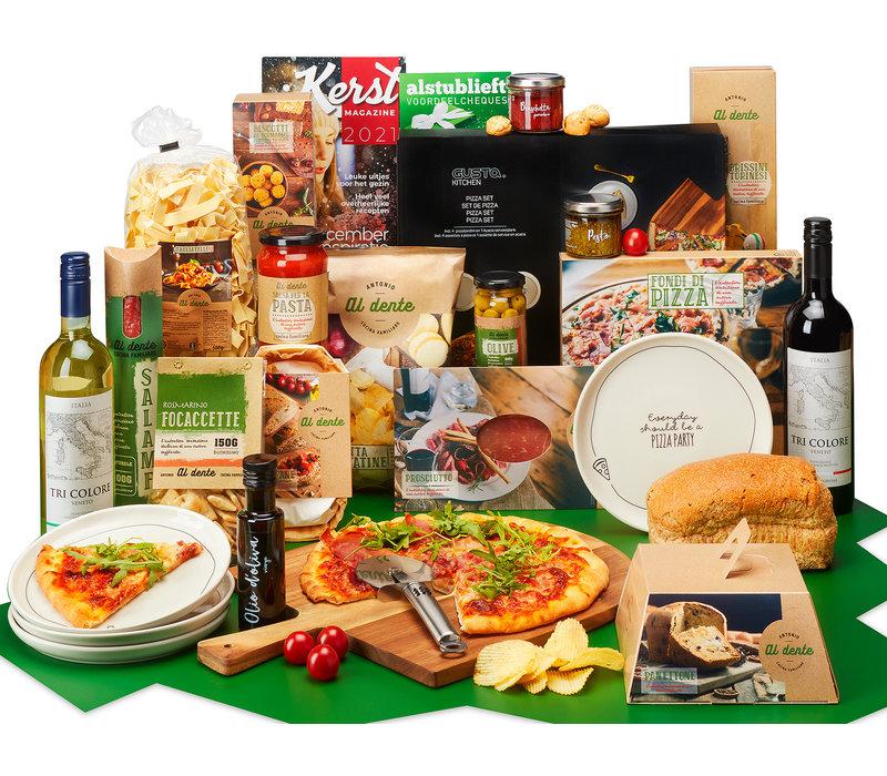Kerstpakket Italië op een plank - 9% BTW