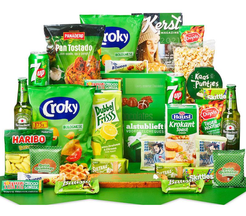 Kerstpakket Gelukkig groen - 21% BTW