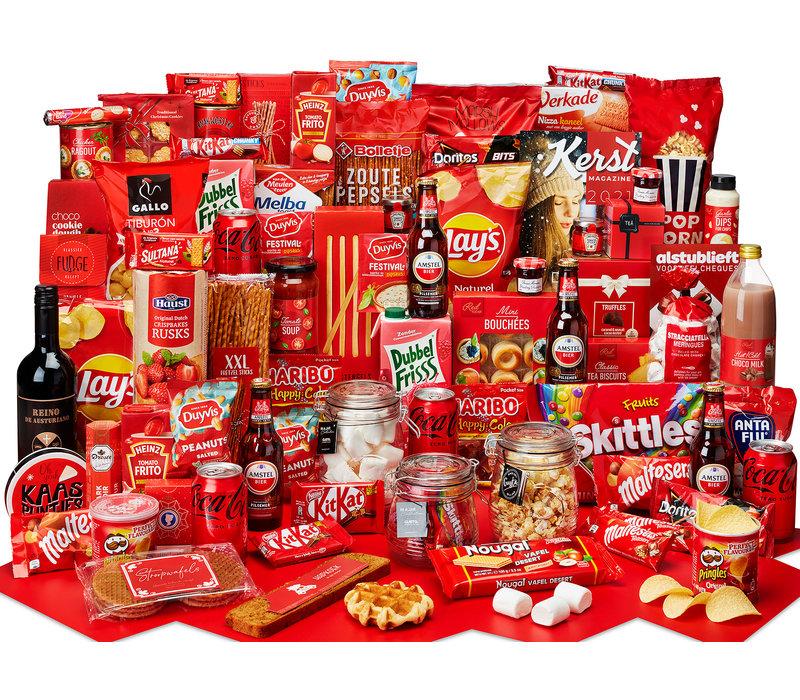 Kerstpakket Extra veel lekkers - 21% BTW