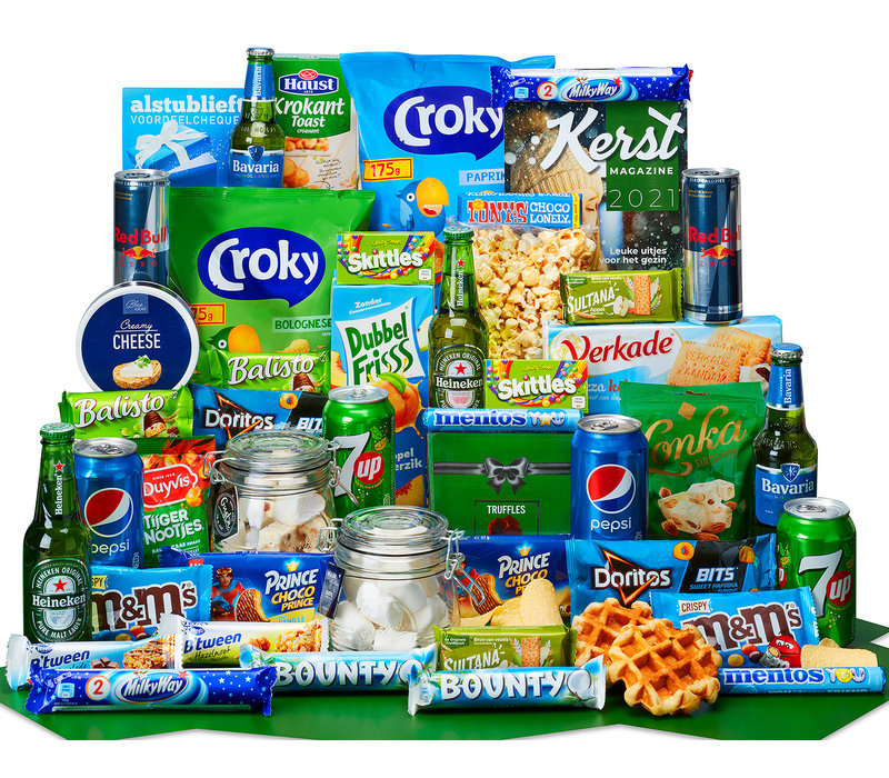 Kerstpakket Een groene kerst - 21% BTW