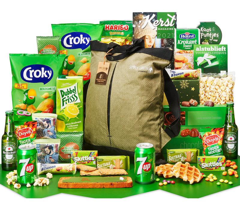 Kerstpakket Eco-rugzak - 21% BTW