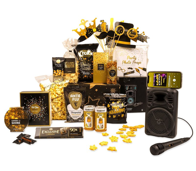 Kerstpakket Party time - 21% BTW