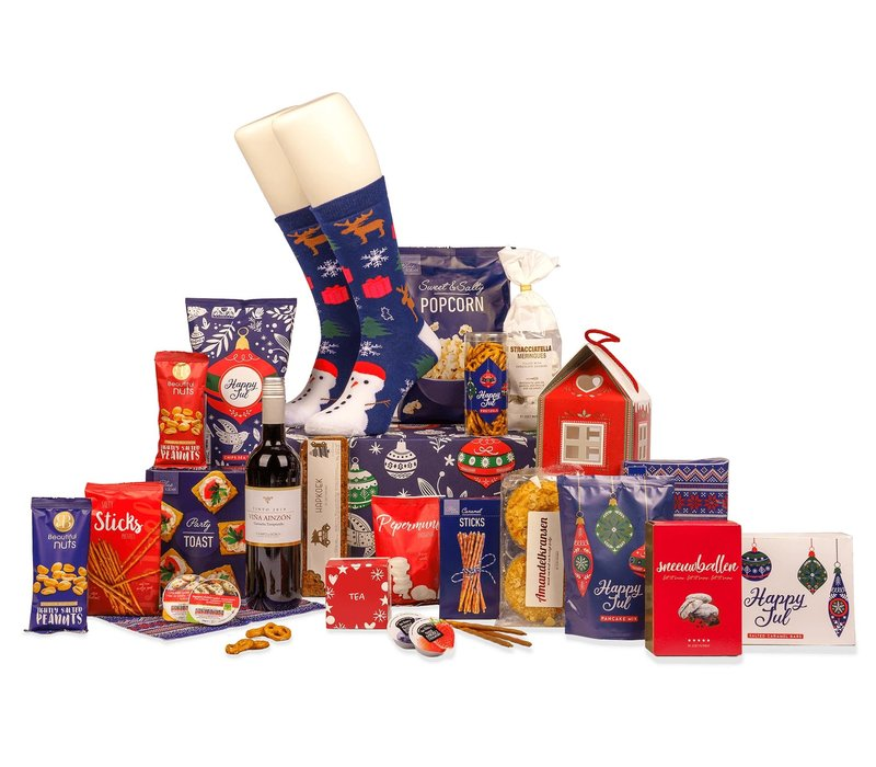 Kerstpakket Happy Christmas - 9% BTW