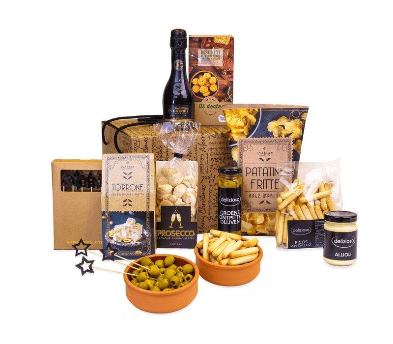 Kerstpakket Delizioso - 9% BTW