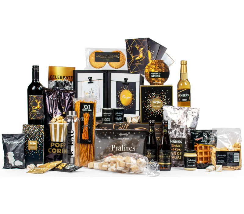 Kerstpakket Een goud nieuw jaar - 21% BTW