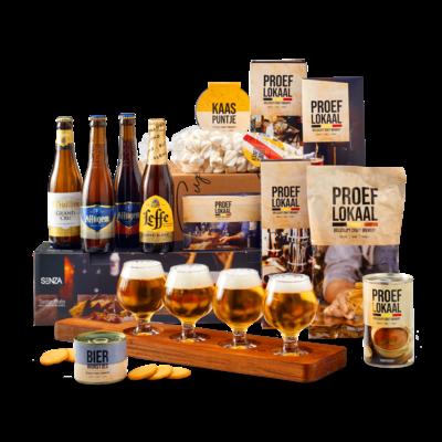 Kerstpakket Belgische bierproeverij