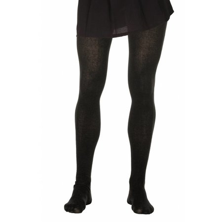 Zwarte maillot katoen