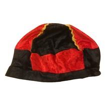 Pietenmuts zwart/rood