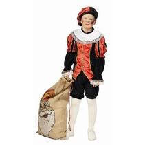Zwarte pieten kostuum kind 4-delig Pepe