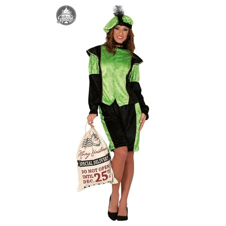 Dames pietenpak groen