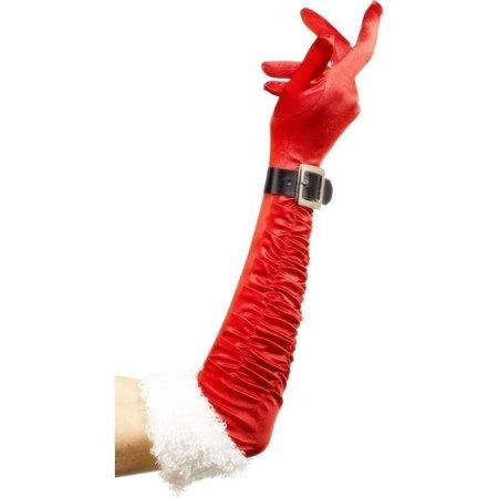 Kerst handschoenen lang