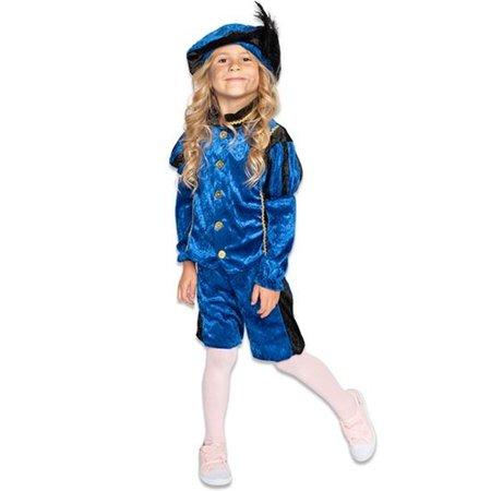 Pietenpak Rufo Blauw/Zwart Kind