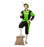 Pieten kostuum Diego zwart/groen