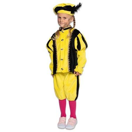 Pietenkostuum Kind Geel/Zwart Elite