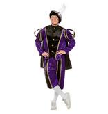 Pietenpak deluxe man paars/zwart