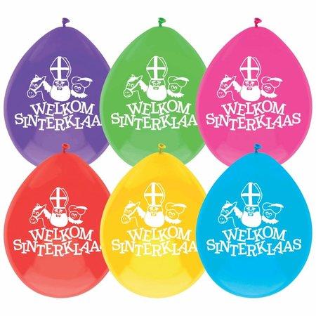 Ballonnen ''Welkom Sinterklaas''