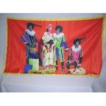 Vlag Sinterklaasfeest 150x90cm