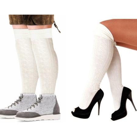 Pieten sokken wit