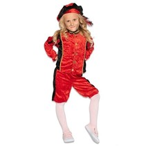 Pietenpak Rufo Rood/Zwart Kind