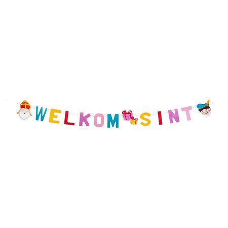 Letterslinger 'Welkom Sint' (1,5m)