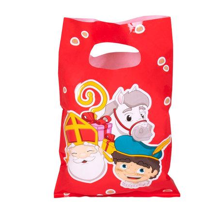 Uitdeelzakjes Sinterklaas (6st)