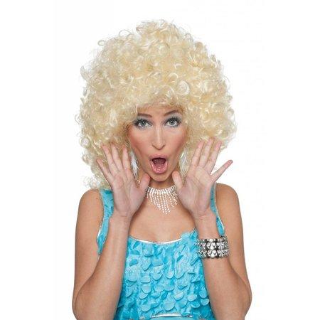 Pruik Sally blond