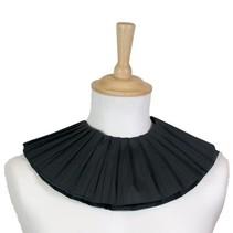 Zwarte Pietenkraag zwart