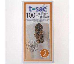 T-sac nr. 2 - 100 theefilters in een doosje