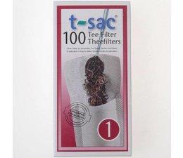 T-sac nr. 1 - 100 theefilters in een doosje
