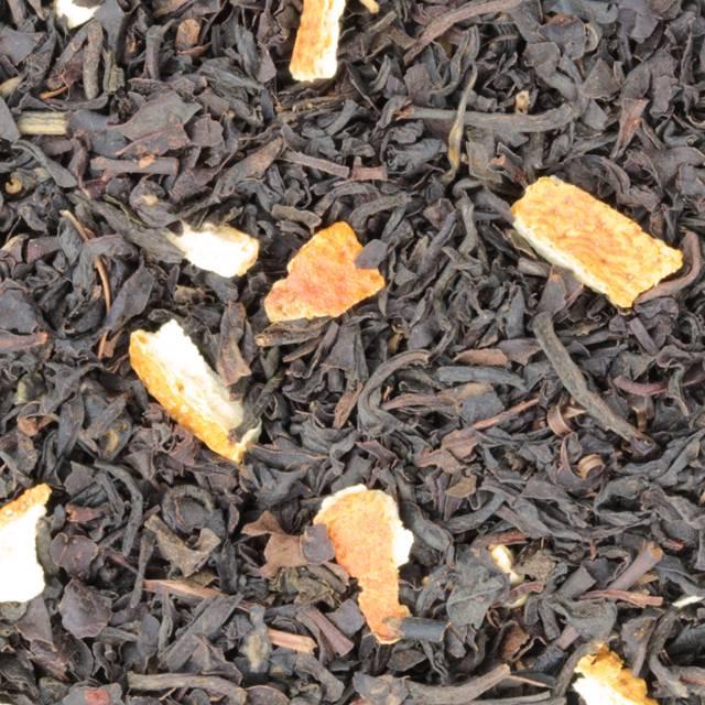 Zwarte thee Citroen