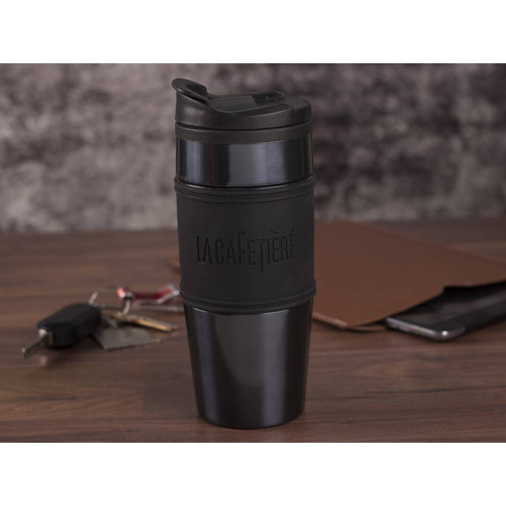 Reisbeker Flask 450 ml in 2 kleuren