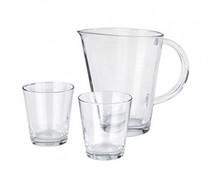 Leonardo Schenkkan en twee glazen  set