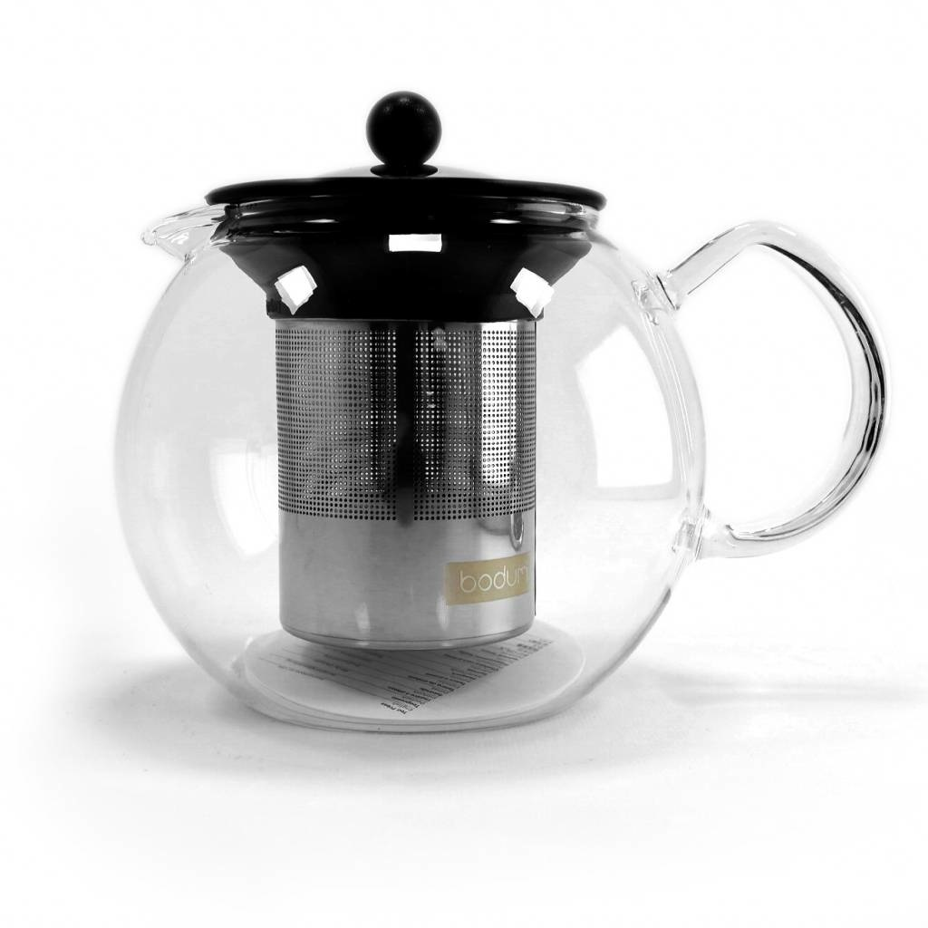 Tea Press Assam 1000 ml en RVS filter