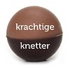 5 Chocoladebikkels in koker RATJETOE