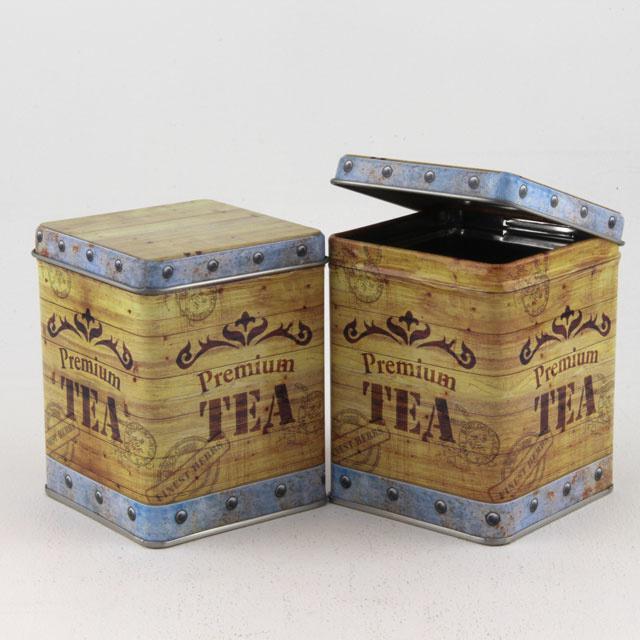 T-tray met losse thee