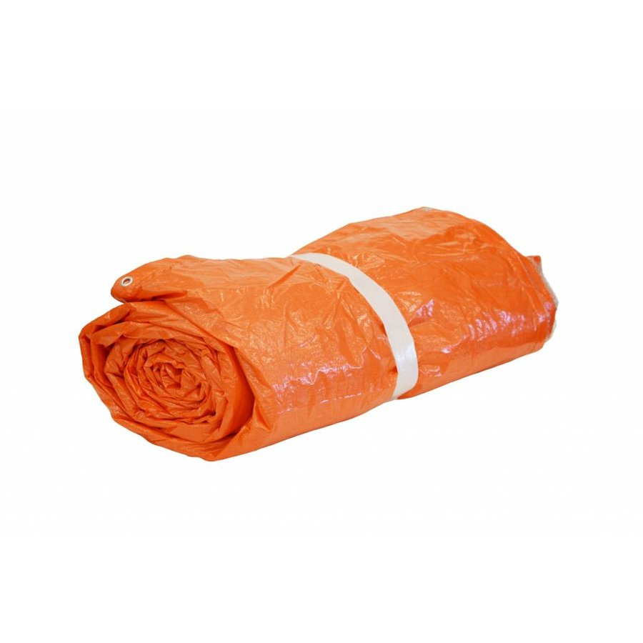 Insulation tarp 6x8m - PE 290 gr/m² - 10mm bubbles