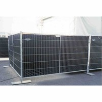 Lightweight fence tarp PE 150 gr/m² - Black