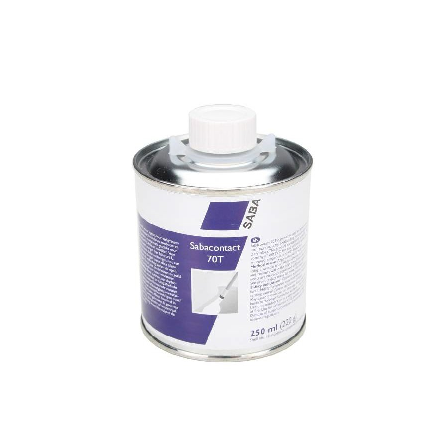 Sabaplast 70T contact adhesive for soft PVC - capacity 250ml