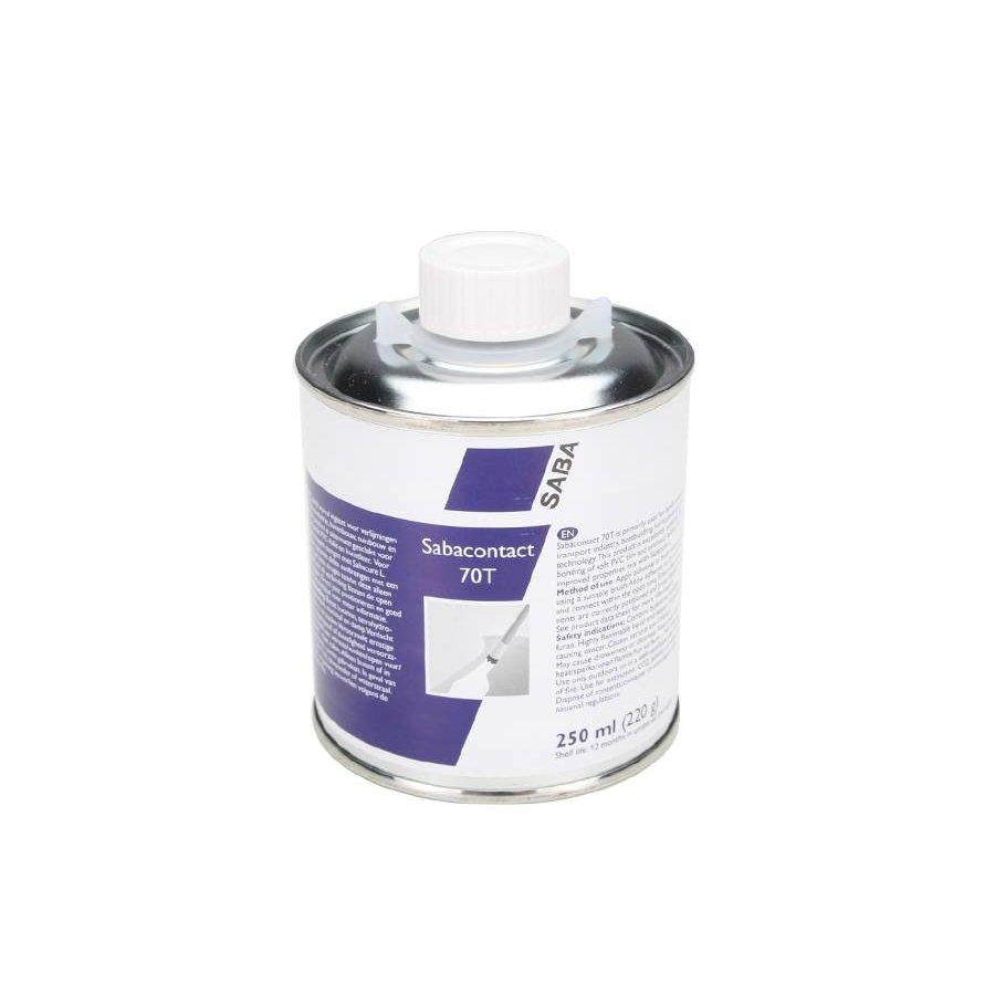 Sabaplast 70T contactlijm voor zachte PVC - inhoud 250ml