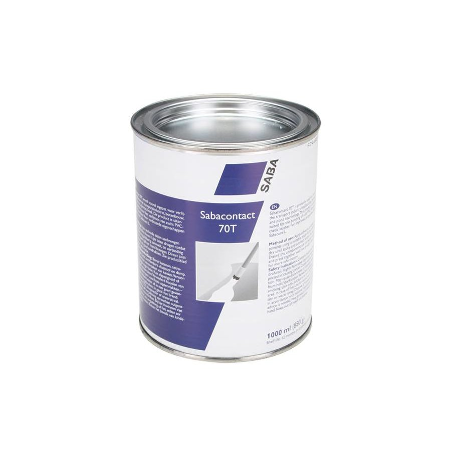 Sabaplast 70T contact adhesive for soft PVC - capacity 1000ml