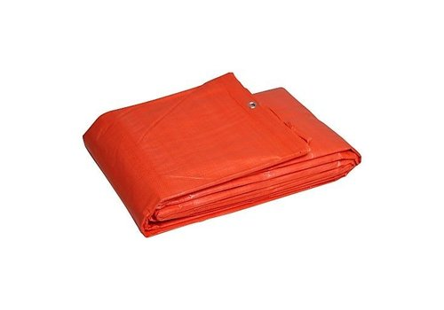 Tarp 10x12 PE 100 - Orange