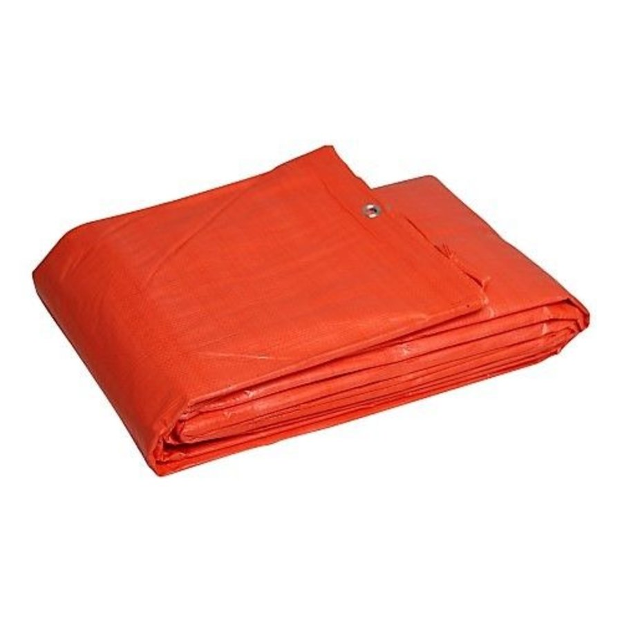 Tarp 4x6 'Light' PE 100 gr/m² - Orange