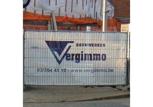 Fence tarp PVC mesh 280