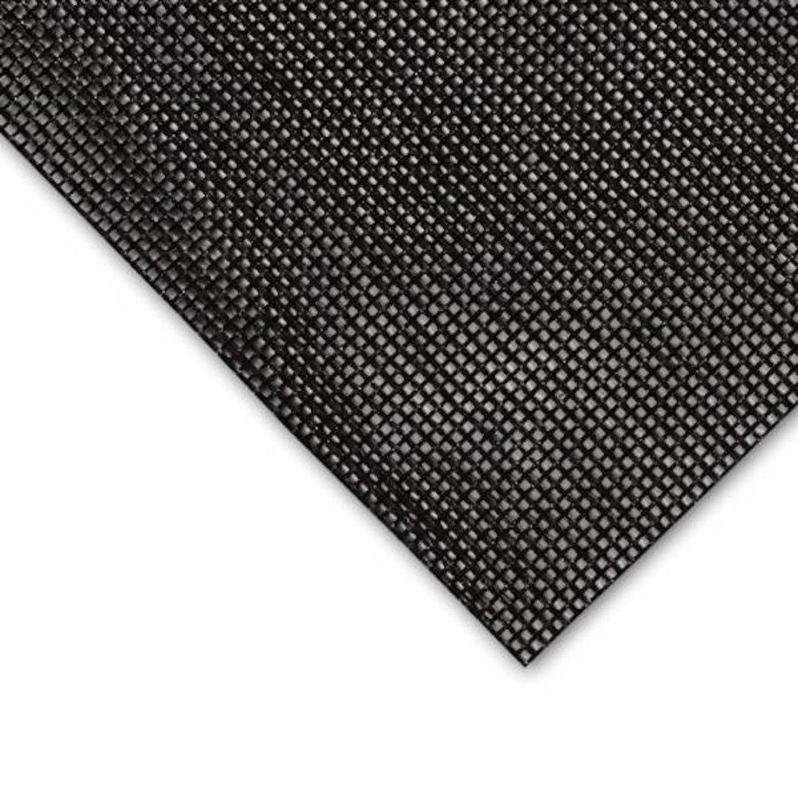 Bouwhekzeil PVC gaas 280 gr/m² - winddoorlatend