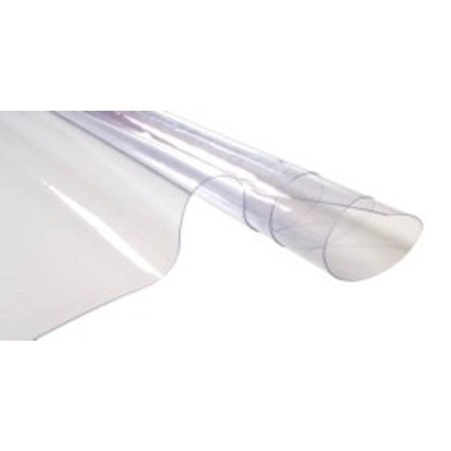 PVC raamfolie 0,8mm dikte NVO van de rol, breedte 1,40m