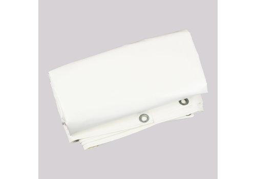 Flame retardant tarp 3x4m PVC 650 - White