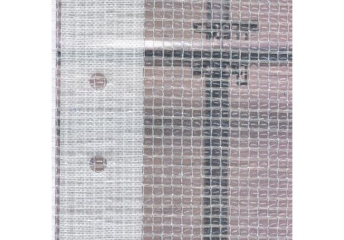 Scaffolding tarp 2.70m x 20m PE/PP 180 - Transparent
